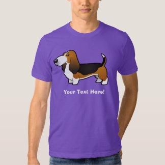 Cartoon Basset Hound Shirts