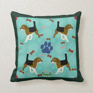 Cartoon Beagle Cushion