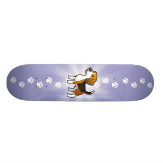 Cartoon Beagle Custom Skateboard