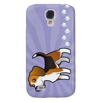 Cartoon Beagle Galaxy S4 Case