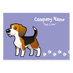 Cartoon Beagle Pack Of Chubby Business Cards