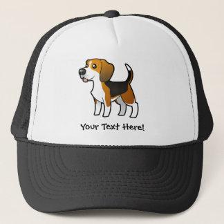 Cartoon Beagle Trucker Hat