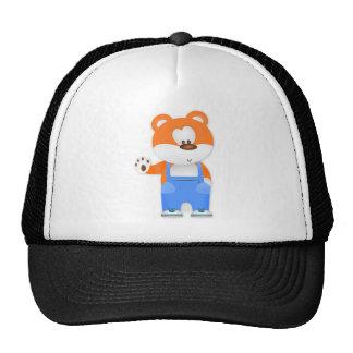 Cartoon bear cap