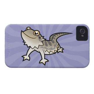 Cartoon Bearded Dragon Rankin Dragon iPhone 4 Cases