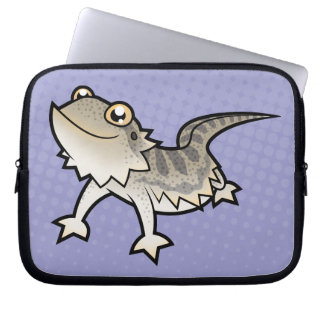 Cartoon Bearded Dragon / Rankin Dragon Computer Sleeves