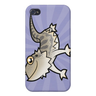 Cartoon Bearded Dragon / Rankin Dragon iPhone 4/4S Case