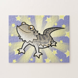 Cartoon Bearded Dragon / Rankin Dragon Jigsaw Puzzle