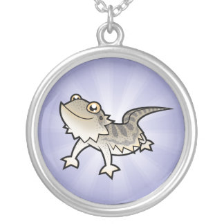 Cartoon Bearded Dragon / Rankin Dragon Necklaces