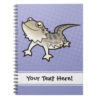 Cartoon Bearded Dragon / Rankin Dragon Note Books