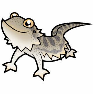 Cartoon Bearded Dragon Rankin Dragon Photo Sculpture