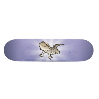 Cartoon Bearded Dragon / Rankin Dragon Skate Deck