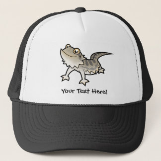 Cartoon Bearded Dragon / Rankin Dragon Trucker Hat