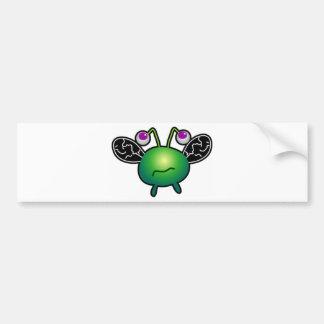 Cartoon Beatle Bumper Sticker