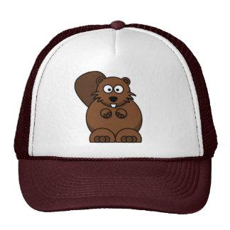 Cartoon Beaver Cap