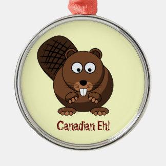 Cartoon Beaver Ornament
