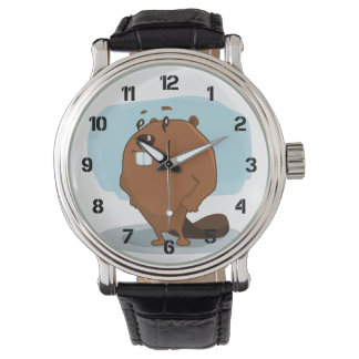 Cartoon Beaver Watch