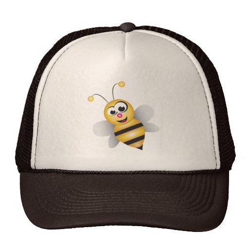 Cartoon Bee Mesh Hat