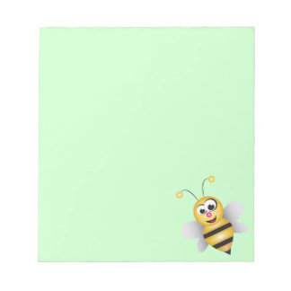 Cartoon Bee Notepad
