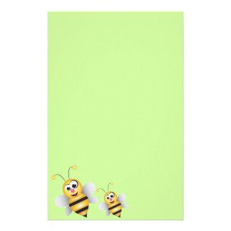 Cartoon Bee Stationery