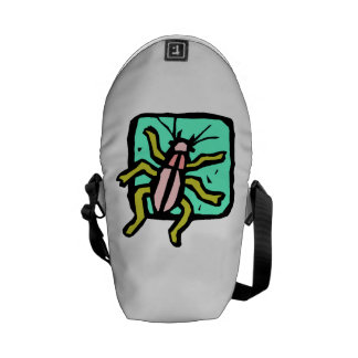 Cartoon Beetle Messenger Bag