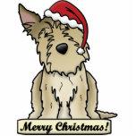 Cartoon Berger Picard Christmas Ornament Photo Cutout