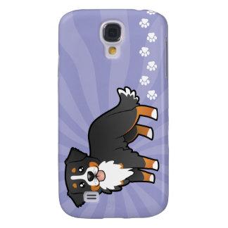 Cartoon Bernese Mountain Dog Galaxy S4 Case