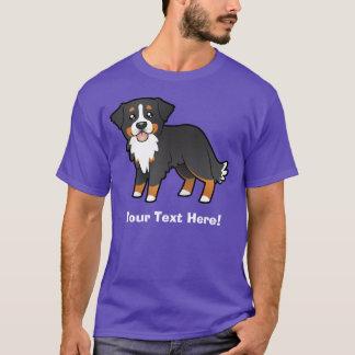 Cartoon Bernese Mountain Dog T-Shirt