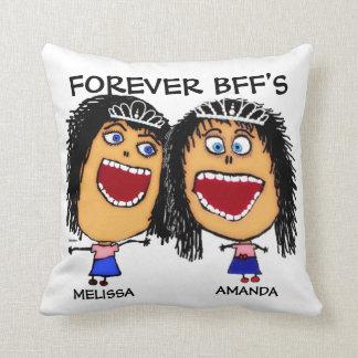 Cartoon Best Friend BFF's Cushion