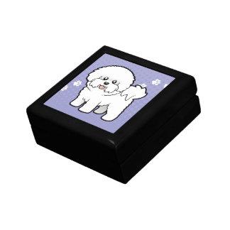 Cartoon Bichon Frise Gift Box