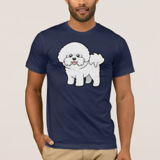 Cartoon Bichon Frise T-Shirt