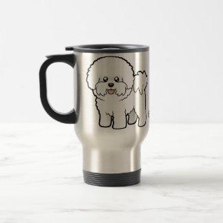Cartoon Bichon Frise Travel Mug