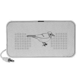 Cartoon Bird PC Speakers