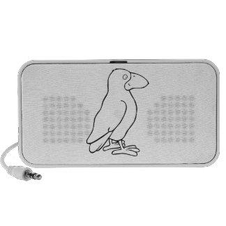 Cartoon Bird Travelling Speakers