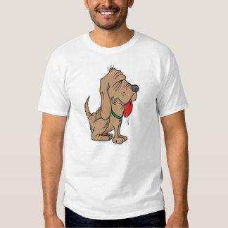 cartoon bloodhound t-shirts