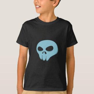 cartoon blue skull T-Shirt