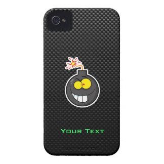 Cartoon Bomb Sleek iPhone 4 Case-Mate Cases