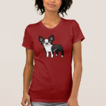 Cartoon Boston Terrier Shirts