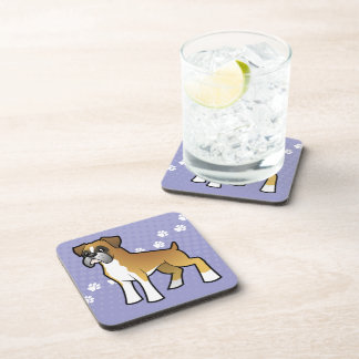 Cartoon Boxer Coaster