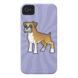Cartoon Boxer iPhone 4 Case-Mate Case