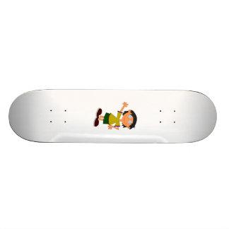Cartoon Boy Skateboard Decks