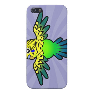 Cartoon Budgie Cover For iPhone 5/5S