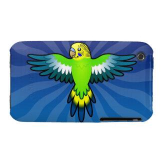 Cartoon Budgie / Parakeet Case-Mate iPhone 3 Case