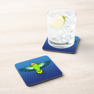 Cartoon Budgie / Parakeet Coaster