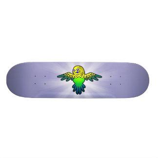 Cartoon Budgie Skate Board Decks