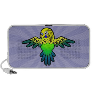 Cartoon Budgie Speaker