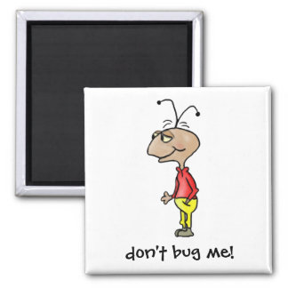 Cartoon Bug Magnet