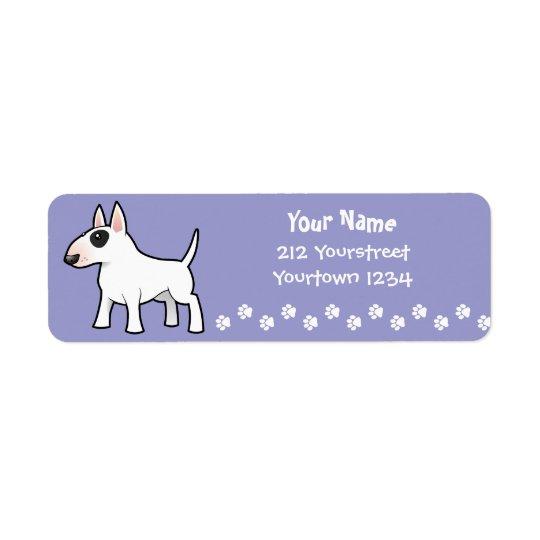 Cartoon Bull Terrier