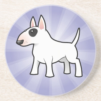 Cartoon Bull Terrier Coaster
