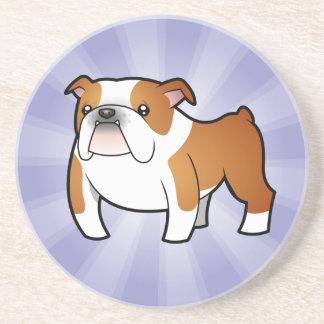 Cartoon Bulldog Coaster