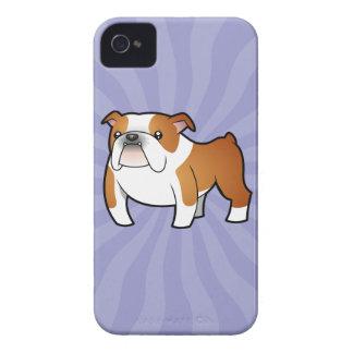 Cartoon Bulldog iPhone 4 Cover